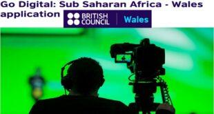 British Council Sub-Saharan Africa-Wales Go Digital Grants 2021