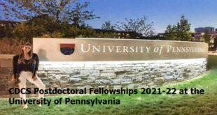 CDCS Postdoctoral Fellowships 2021-22 at the University of Pennsylvania