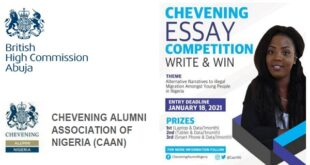 British High Commission: Chevening Essay Competition 2021