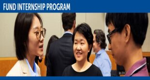 IMF Fund Internship Program 2021 for Students Worldwide