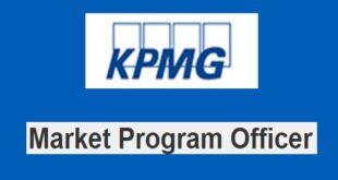 KPMG Recruitment for Market Program Officer (LOB Management Officers), Nigeria