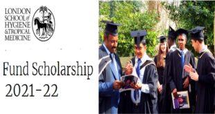 LSHTM Fund Scholarship 2021-22