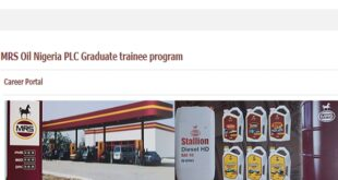 MRS Oil Graduate Internship Program 2021