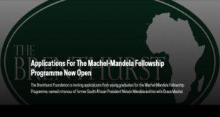 Machel-Mandela Fellowship Programme 2021
