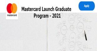 Mastercard Launch Graduate Program 2021 (Associate Specialist, Digital Products)