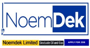 Noemdek Limited Oil and Gas Marketing Intern Recruitment, Other Opportunities