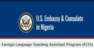 US Embassy Foreign Language Teaching Assistant Program