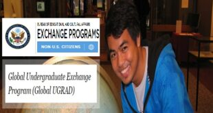 US Embassy Global Undergraduate Exchange Program 2021/22