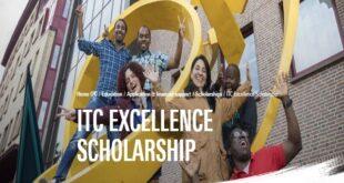 University of Twente ITC Excellence Scholarship (2021 Intake)