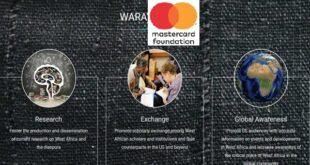 WARA- Mastercard Foundation Doctoral Fellowship 2021