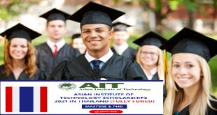 Fully-Funded Bangchak Master Scholarships 2021 at AIT, Thailand