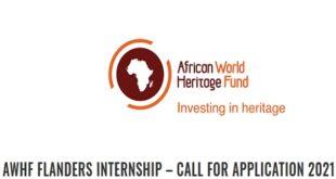 African World Heritage Fund Internship