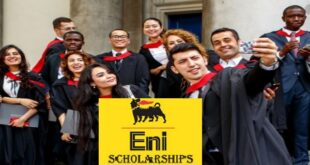 Eni MEDEA Masters Scholarship