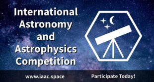 International Astronomy and Astrophysics Competition 2021 for High-School and University Students (worldwide)