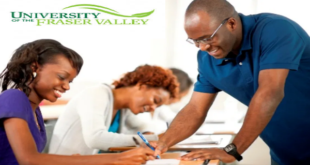 University of the Fraser Valley International Regional Entrance Scholarship in Canada