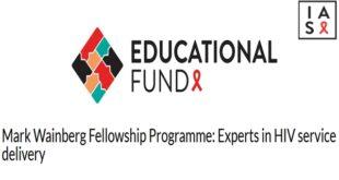 Mark Wainberg Fellowship Programme 2021
