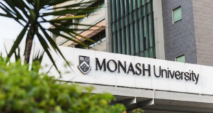 Monash University International Scholarship for PhD Students 2021