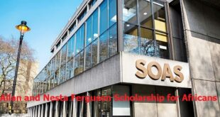 Allan and Nesta Ferguson Scholarship