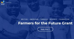 British American Tobacco Nigeria Foundation Farmers for the Future Grant