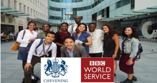Chevening/BBC Professional Placement Programme