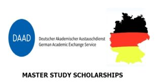 DAAD Master Study Scholarships 2021/2022 for All Academic Disciplines