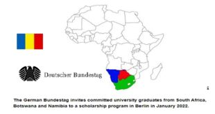 German Bundestag International Parliament Scholarship (IPS) 2021/22 for University Graduates