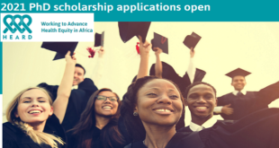 HEARD PhD Scholarships for African Scholars