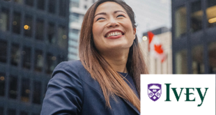 Ivey Global Leader Scholarship Award at Ivey University in Canada 2021(Fully-funded)