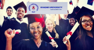 Khazar University Excellence and Merit Scholarships 2021 (Bachelor, Masters and PhD)