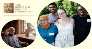 Mandela Rhodes Foundation Scholarship 2021 for African Students