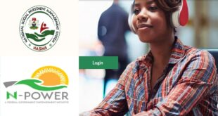 Npower Login Portal NASIMS.gov.ng, Password Reset and Contact Number