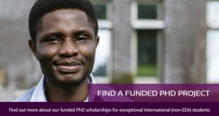 Portsmouth PhD Scholarships 2021/2022 for International Students