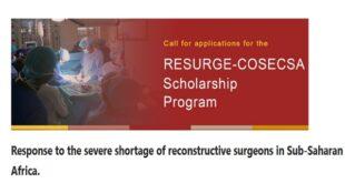 RESURGE-COSECSA Scholarship Program