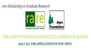 Rare-Ages Foundation Research Fellowship & Bursaries