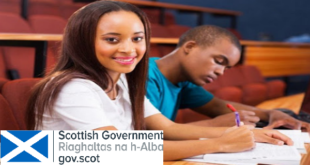Scotland's Saltire Scholarships for Postgraduate Students 2021