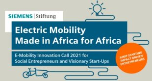 Siemens Stiftung E-Mobility Innovation Award