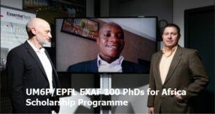UM6P/EPFL EXAF 100 PhDs for Africa Scholarship Programme