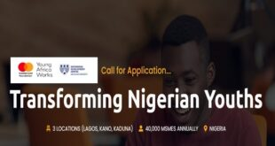 Young Africa Works-Mastercard Foundation Transforming Nigerian Youths Program