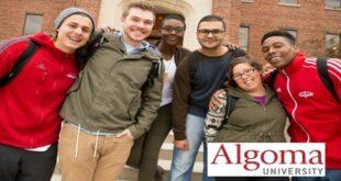 Algoma University International Scholarships 2021/2022 for Study in Canada