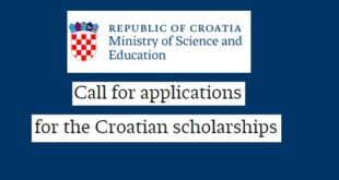 Croatian Government scholarships 2021/2022 for young Christians from Developing Countries