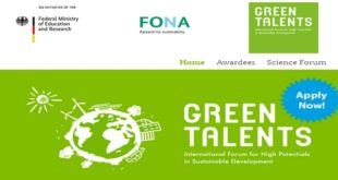 German Government Green Talents Competition 2021 (Fully-Funded to Germany)