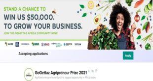 Gogettaz Agripreneur Prize