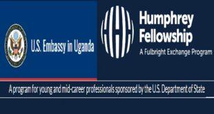 Hubert H. Humphrey Fellowship Program 2022-2023 (Fully Funded to USA)