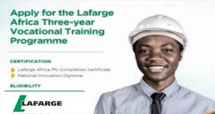 Lafarge Technical Skills Development Program 2021