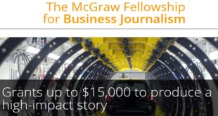McGraw Fellowship for Business Journalism