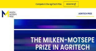 Milken-Motsepe Innovation Prize for AgriTech Entrepreneurs