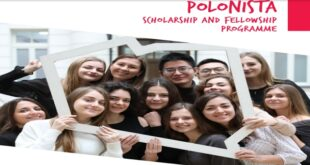 Polish Government POLONISTA Scholarship and Fellowship 2021 for Students and Researchers