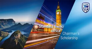 Standard Bank Africa Chairman's Scholarship