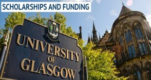 University of Glasgow International Leadership Scholarships 2021-2022 for Study in UK