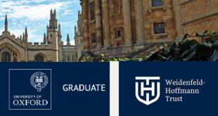 University of Oxford Weidenfeld-Hoffmann Scholarships and Leadership Programme 2021